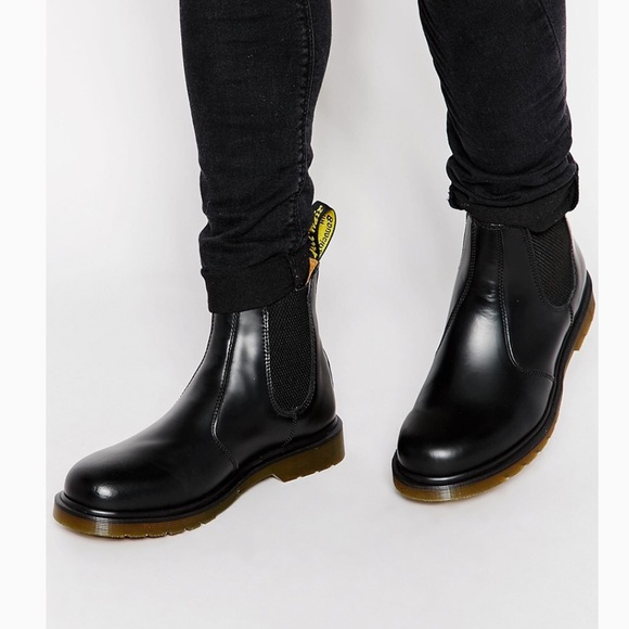 Dr. Martens Shoes - Doc Martens Womens Chelsea Boot Smooth 2976 8 New 0b3763a837